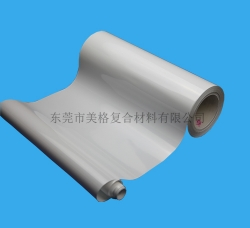 白色双塑单硅离型纸